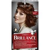 Brillance - Coloration - 867 Mahagonibraun Stufe 3 Intensiv-Color-Creme