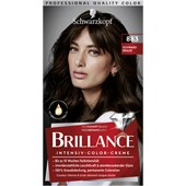 Brillance - Coloration - 883 Schwarzbraun Stufe 3 Intensiv-Color-Creme