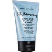 Bumble and bumble - Struktura a fixace - Thickening Great Body Blow Dry Creme
