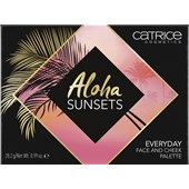 Catrice - Eyeshadow - Aloha Sunsets Everyday Face And Cheek Palette