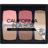 Catrice - Puder - California In A Box Bronzer & Blush Palette