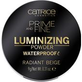 Catrice - Puder - Prime And Fine Luminizing Powder Waterproof