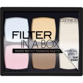 Catrice - Rouge - Filter In A Box Photo Perfect Finishing Palette