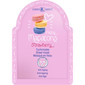 Chiara Ambra - Masken - Happy Macarons Strawberry Tuchmaske