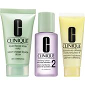 Clinique - 3-Phasen-Systempflege - 3-Step Trial Kit Hauttyp 2