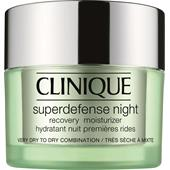 Clinique - Moisturising care - Superdefense Night Rcovery Moisturizer Hauttyp 1/2