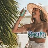 Coola - Gezichtsverzorging - Make-up Setting Spray SPF 30 Face Green Tea / Aloe