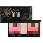 DIOR - Lippenstifte - Holiday Couture Palette Sparkling Couture Palette Colour & Shine Essentials Face, Eyes & Lips