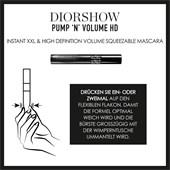 DIOR - Mascara - Diorshow Pump 'N' Volume HD
