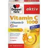 Doppelherz - Immune system & cell protection - Vitamin C + Vitamin D Tablets