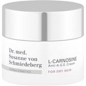 Dr. Susanne von Schmiedeberg - Gesichtcremes - L-Carnosine Anti-A.G.E. Cream For Dry Skin