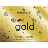 Essence - Highlighter - My Little Gold Highlighter Palette