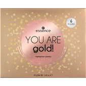 Essence - Highlighter - You Are Gold! Highlighter Palette