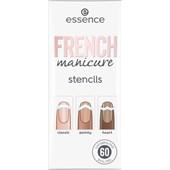 Essence - Kunstnägel - French Manicure Stencils