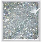 Essence - Luomiväri - Silver Glitter Show Eyeshadow Palette