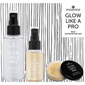 Essence - Makijaż - Glow like a Pro - Gold Trigger Face Perfectionist Set