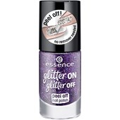 Essence - Nail polish - Glitter On Glitter Off Peel Off Nail Polish