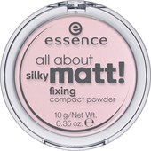 Essence - Pó e rouge - All About Silky Matt! Fixing Compact Powder