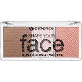Essence - All About Matt! Puder - Shape Your Face Contouring Palette