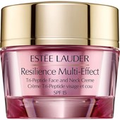 Estée Lauder - Facial care - Resilience Multi-Effect Tri-Peptide Face and Neck Creme SPF 15
