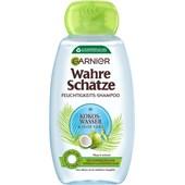 GARNIER - Wahre Schätze - Kokoswasser & Aloe Vera Feuchtigkeits Shampoo