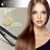 Golden Curl - Hair styling tools - Il Nero Titanium Plate Straightener