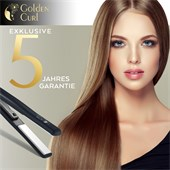 Golden Curl - Hair styling tools - The Black Ceramic Plate Straightener