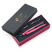 Golden Curl - Hair styling tools - The Pink Titanium Plate Straightener