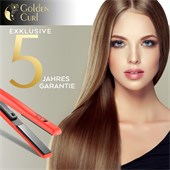 Golden Curl - Hair styling tools - The Red Titanium Plate Straightener