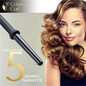 Golden Curl - Curling tongs - The Black 18-25 mm Curler
