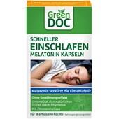 GreenDoc - Schlaf & Entspannung - Schneller Einschlafen Melatonin Kapseln
