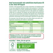 GreenDoc - Mood & concentration - Hanf Aromaextrakt Kapseln