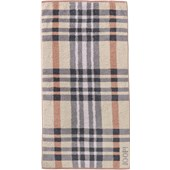 JOOP! - Breeze Checked - Copper Bath Towel