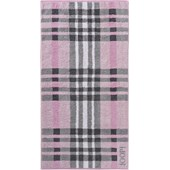 JOOP! - Breeze Checked - Douchehanddoek roze