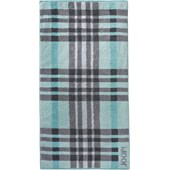 JOOP! - Breeze Checked - Sea Bath Towel