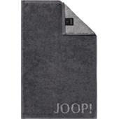 JOOP! - Classic Doubleface - Guest towel Anthracite