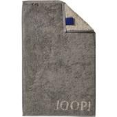 JOOP! - Classic Doubleface - Gastendoekje grafiet