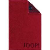 JOOP! - Classic Doubleface - Gastendoekje robijn