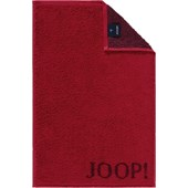 JOOP! - Classic Doubleface - Asciugamano per gli ospiti rubino
