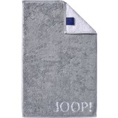 JOOP! - Classic Doubleface - Toalla de invitados plata