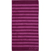 JOOP! - Classic Stripes - Cassis bath towel