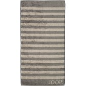 JOOP! - Classic Stripes - Graphite bath towel