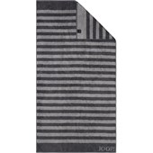 JOOP! - Classic Stripes - Shower towel Anthracite
