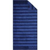 JOOP! - Classic Stripes - Handdoek saffier