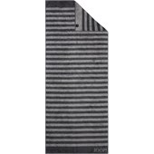 JOOP! - Classic Stripes - Sauna towel Anthracite