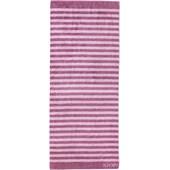 JOOP! - Classic Stripes - Saunahåndklæde Magnolie