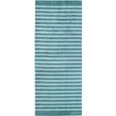 JOOP! - Classic Stripes - Saunový ručník tyrkysový