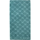 JOOP! - Cornflower - Douchehanddoek turquoise