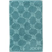 JOOP! - Cornflower - Gastendoekje turquoise
