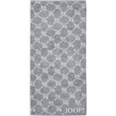 JOOP! - Cornflower - Handdoek zilver